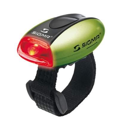 Велосипедный фонарь задний Sigma Micro зеленый