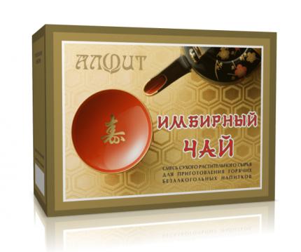 Чай Алфит имбирный 20 пакетиков