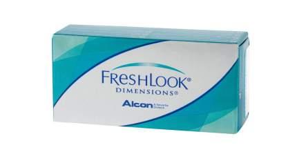 Контактные линзы FreshLook Dimensions 6 линз -8,00 pacific blue