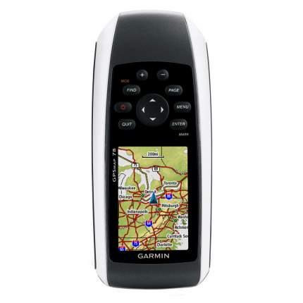Туристический навигатор Garmin GPSMap 78 черный/серый