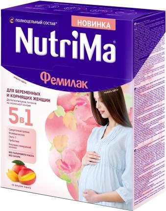 Молочный напиток для беременных и кормящих NutriMa Фемилак со вкусом манго 350 г