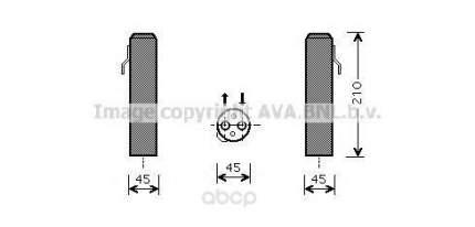 Радиатор кондиционера автомобильный Ava HYD218
