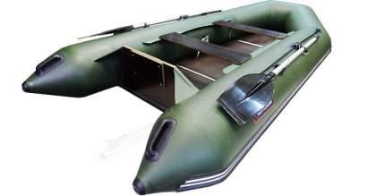 Лодка рыболовная Хантер 320 Л зеленая