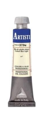 Масляная краска Maimeri 373 кобальт синий светлый 20 мл