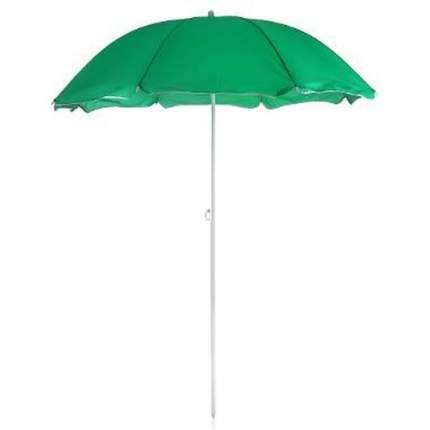 Зонт пляжный GREENHOUSE UM-PL160-2/180, цвет зеленый, 200х180см