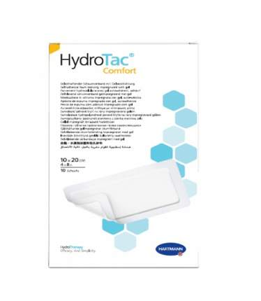 Повязка Hydrotac comfort Гидротак комфорт губчатая самоклеящаяся 10х20 см 10 шт. 685813