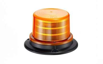 Проблесковый маяк мигалка 6000K желтый оранжевый 10 led 12-24V Маяк-95