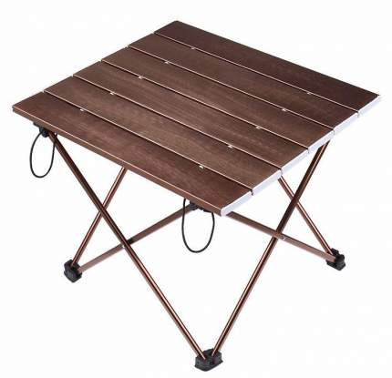 Туристический стол Tramp Compact коричневый