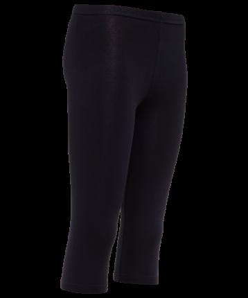 Леггинсы женские Amely AA-241, черные, 46 RU