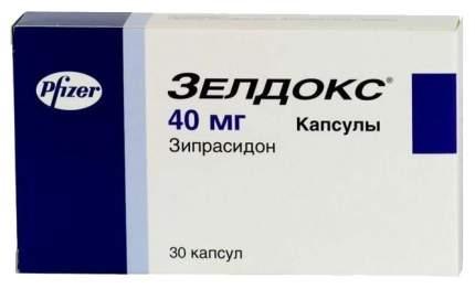 Зелдокс капсулы 40 мг 30 шт.