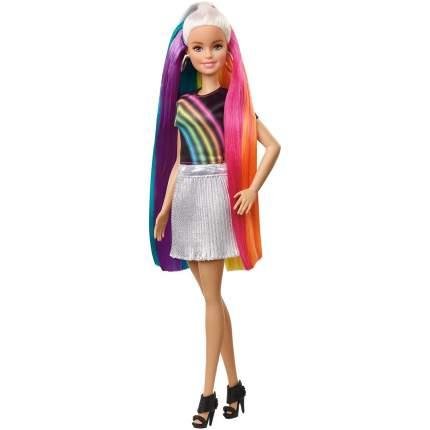 Кукла Barbie с радужными волосами блондинка