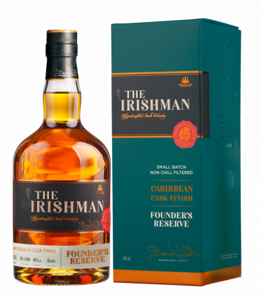 Виски The Irishman Founder's Reserve Caribbean Cask Finish
