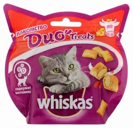 Лакомство для кошек Whiskas Duo Treats Говядина и сыр