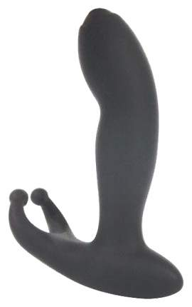 Массажер простаты Bior toys Activator Of Male Power с вибрацией черный 11,4 см