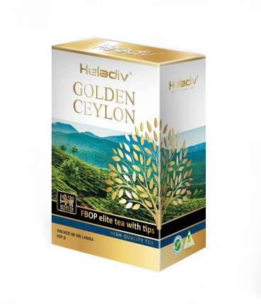 Чай черный листовой  Heladiv GC FBOP elite tea with tips  100 г