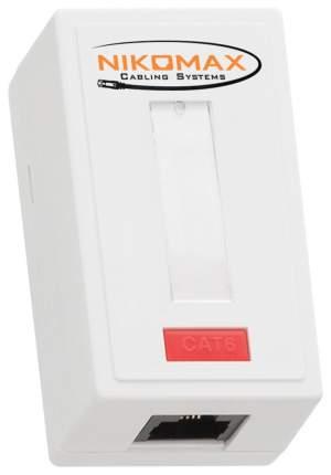 Компьютерная розетка Nikomax NMC-WO1UE2-WT