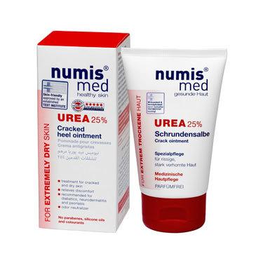 Крем для пяток Numis Med с 25 % мочевиной, 50 мл