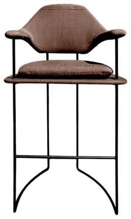 Барный стул Marmo Cosmo MA03/MB/A760-5A Matt black/Вrown