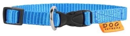 Ошейник для собак Collar Dog Extremе, нейлон, голубой, 20-30 см x 10 мм