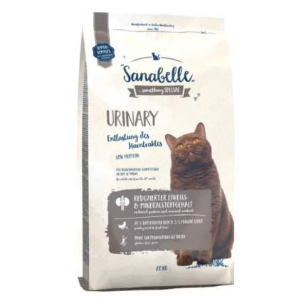 Сухой корм для кошек Bosch Sanabelle Urinary, домашняя птица, 2кг