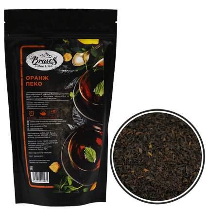 Чай черный Bravos оранж пеко 125 г