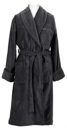 Халат банный Gant Home PREMIUM VELOUR ROBE M Темно-серый