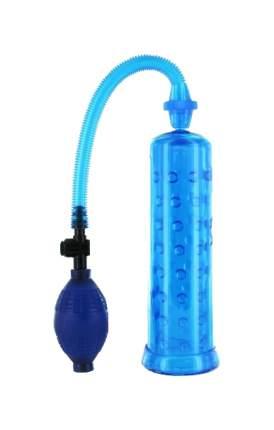 Прозрачная вакуумная помпа с грушей 19,5 см