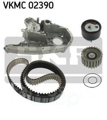 Комплект ремня Грм SKF  Fiat Ducato/Iveco Daily 2.3d 02- с помпой арт. VKMC02390