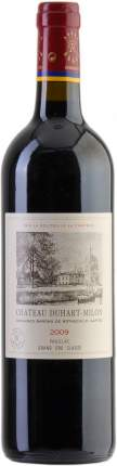 Вино Chateau Duhart-Milon (Rothschild) Pauillac Grand Cru AOC 2009