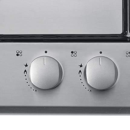 Встраиваемая варочная панель газовая Candy CPG 64SQPX Silver