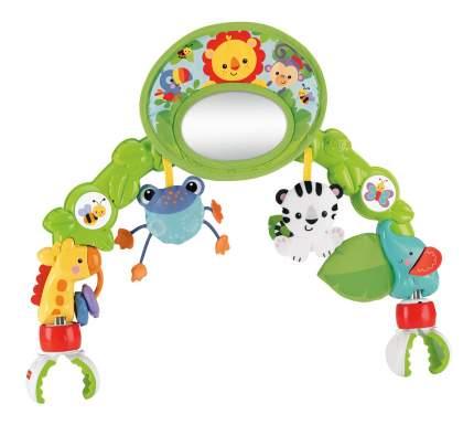 """Дуга игровая с зеркальцем """"Друзья из тропического леса"""" для коляски BHW57"""