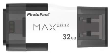 USB-флешка PhotoFast i-Flash Drive MAX G2 U3 32GB Black (IFDMAXG232GB)