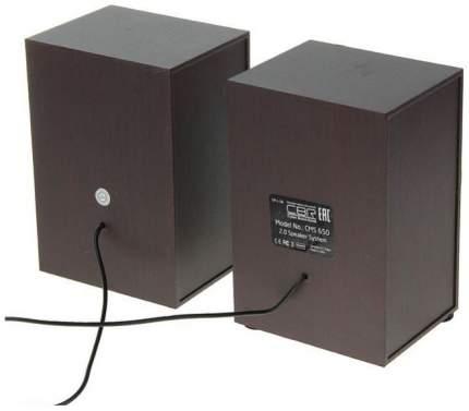 Колонки CBR CMS 650 2x3 Вт дерево