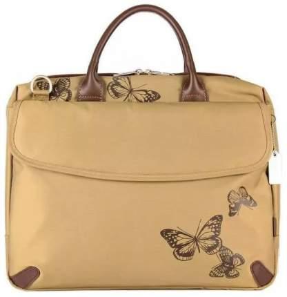 "Сумка для ноутбука 15.6"" Sumdex Butterfly Metro Brief коричневая"