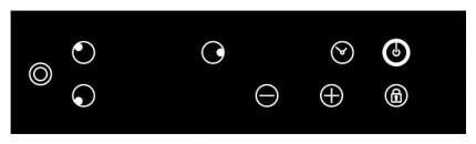 Встраиваемая варочная панель электрическая LEX EVH 431 BL Black