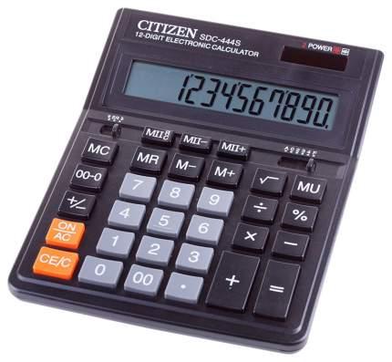 Калькулятор CiTiZEN SDC-444S Черный