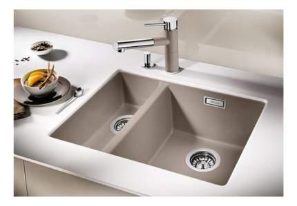 Мойка для кухни гранитная Blanco SUBLINE 340/160-U 520409 серый; бежевый