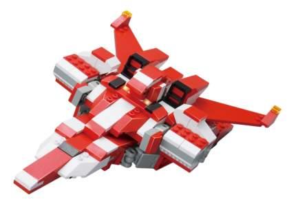 Конструктор пластиковый Sluban Космический - Трансформер-военный самолет 331 деталь