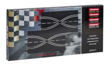Автотрек Carrera Прямая с возможностью смены полосы трассы