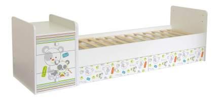 Кровать-трансформер Фея 1100 Панды белый