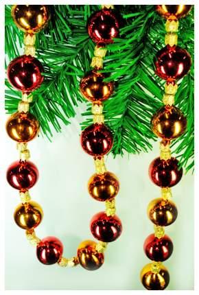 Бусы новогодние Елочка N1 Разноцветный С905