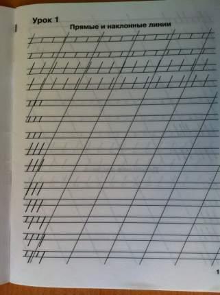 Мои первые Школьные прописи, В 4 Ч.Ч, 1