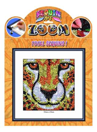 Мозаика из блесток KSG Леопард