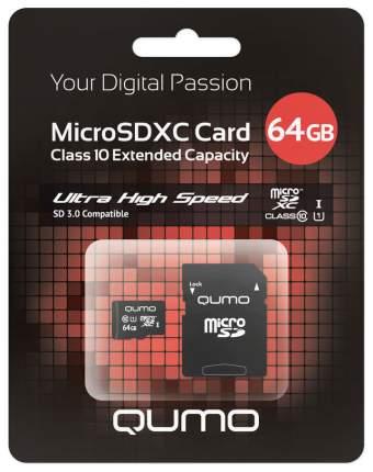 Карта памяти QUMO Micro SDXC QM64GMICSDXC10U1 64GB