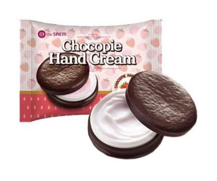 Крем для рук The Saem Chocopie Hand Cream Strawberry 35 мл