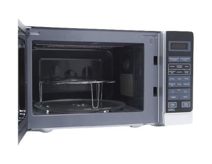 Микроволновая печь с грилем Sharp R-6672RSL silver