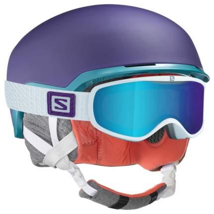 Горнолыжный шлем женский Salomon Shiva 2017, фиолетовый, S