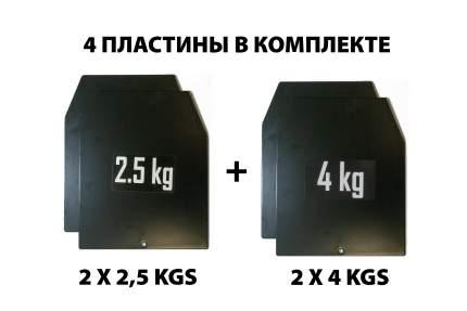 Жилет-утяжелитель Original Fit.Tools FT-SWAT-14 1 x 14 кг
