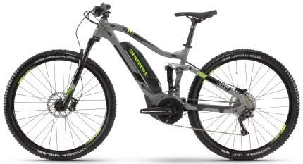 "Электровелосипед Haibike Sduro FullNine 4.0 500Wh 20-G Deore 2019 18"" gray"