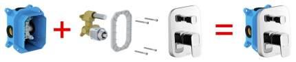 Встраиваемый механизм для смесителей скрытого монтажа R-box, X070052